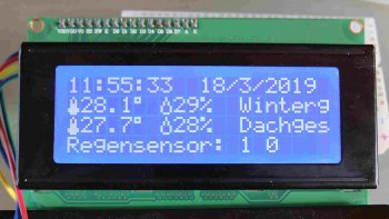 I2C BUS-Display-Adapter mit LCD Display